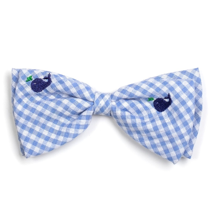 Bowtie-Gingham Whales*
