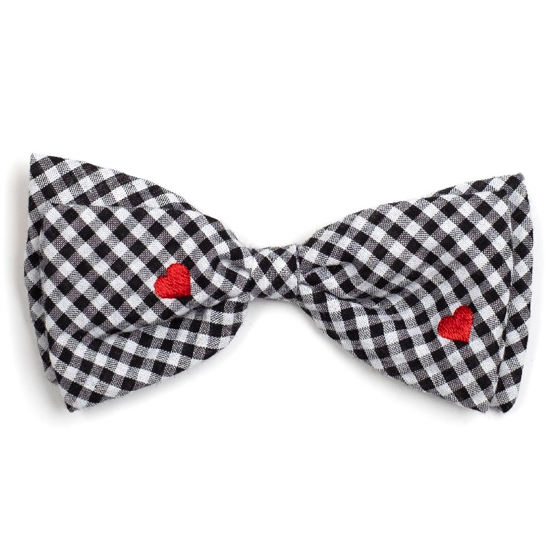 Bowtie-Gingham Hearts*