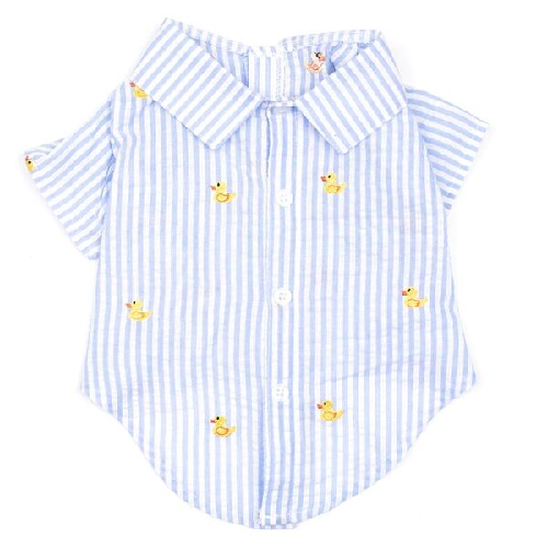 Shirt-Lt.Blue Stripe Rubber Duck*