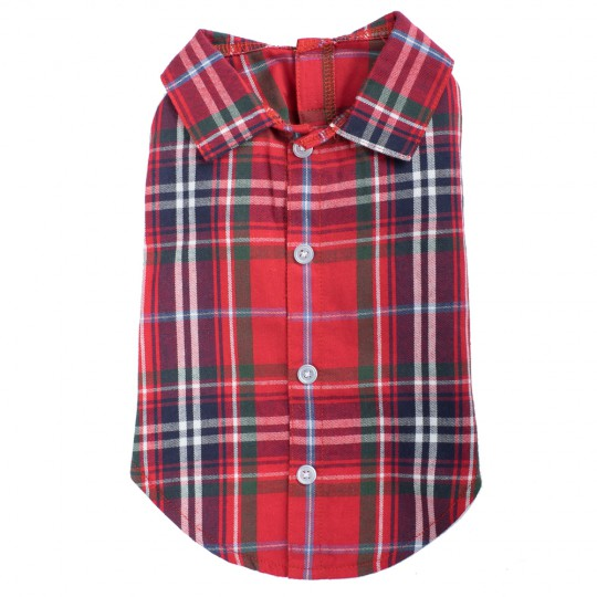 Shirt-Red Plaid*