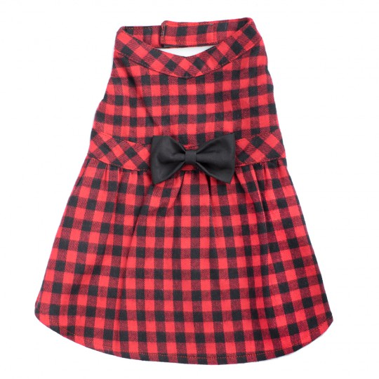 Dress-Buffalo Plaid