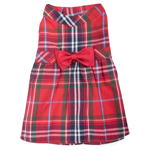 Dress-Red Plaid*
