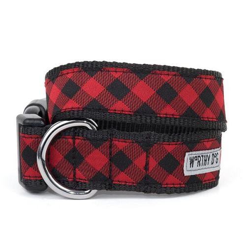 Collar-Bias Buffalo Red