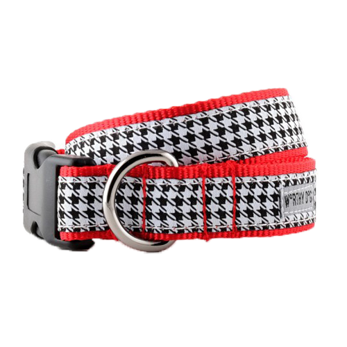 Collar-Houndstooth B/W*