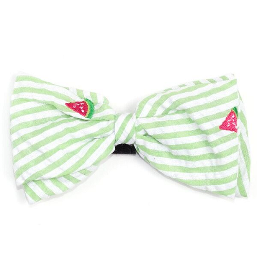 Bowtie-Green Stripe Watermelon*