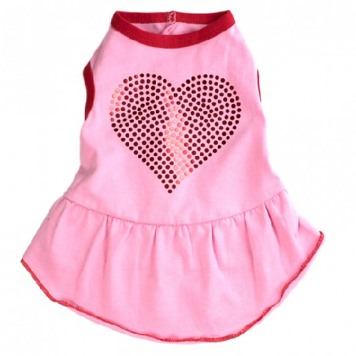 Dress-Bling Heart**