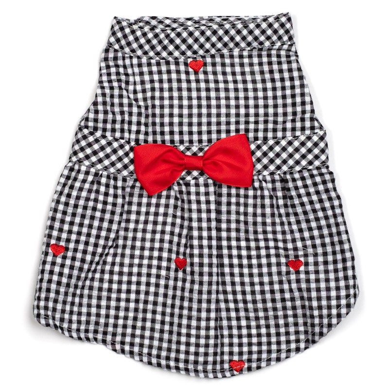 Dress-Gingham Hearts*