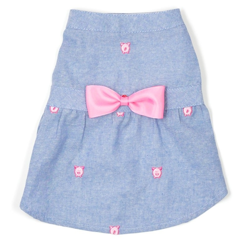 Dress-Chambray Wilbur the Pig*