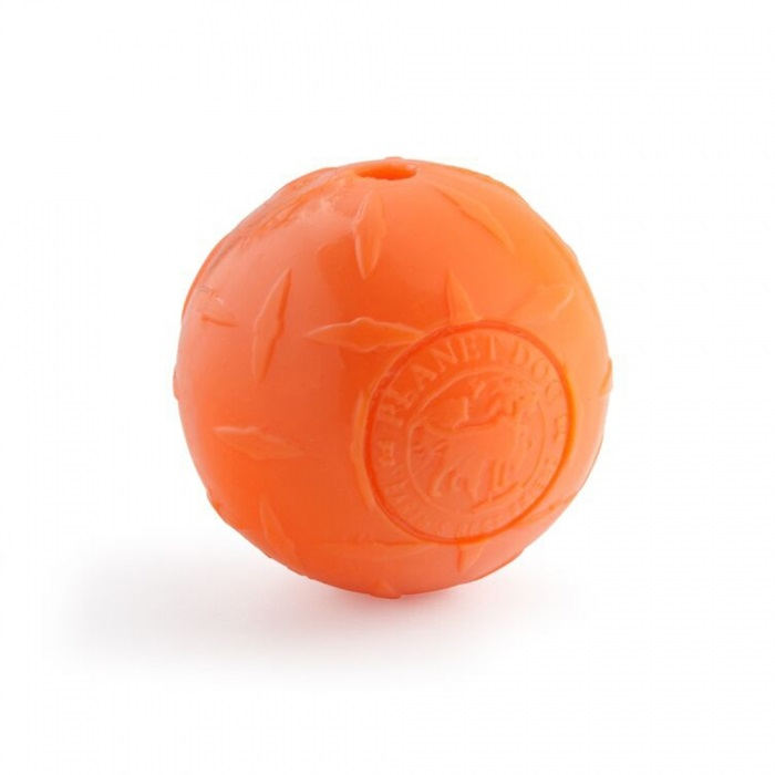 Orbee-Diamond Plate Ball  Orange 4