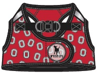 OSU Printed Harness-Tossed Block O