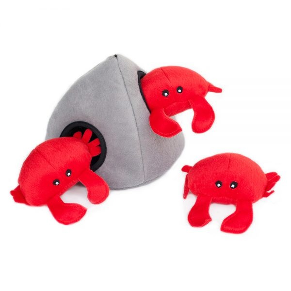 ZP-Burrows Crabs/Rock  Red/Gray