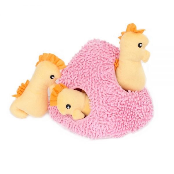 ZP-Burrows Seahorse/Coral  Pink/yellow