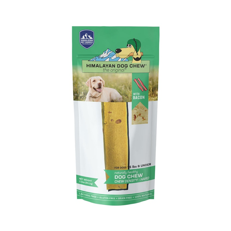 HDC-Himalayan Dog Chew Bacon  Green MD 2.5oz