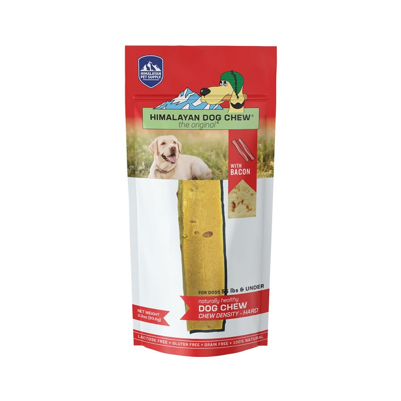 HDC-Himalayan Dog Chew Bacon  Red LG 3.5oz
