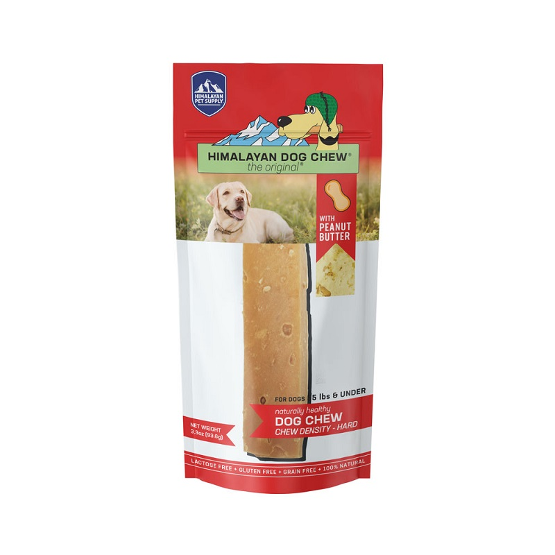 HDC-Himalayan Dog Chew PB  Red LG 3.5oz