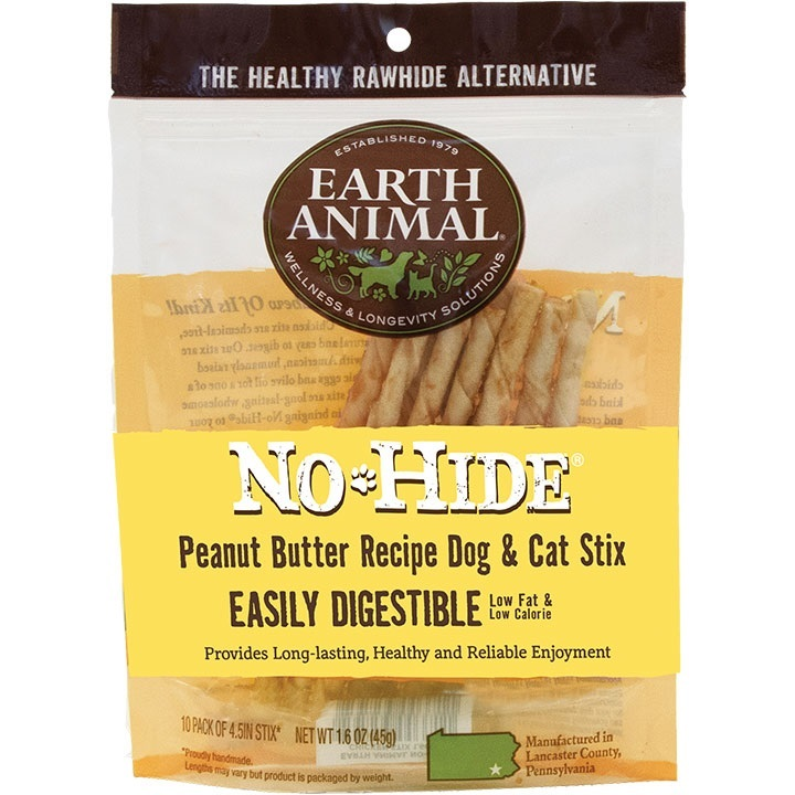 EA-No Hide Chew PB Stix   10pk