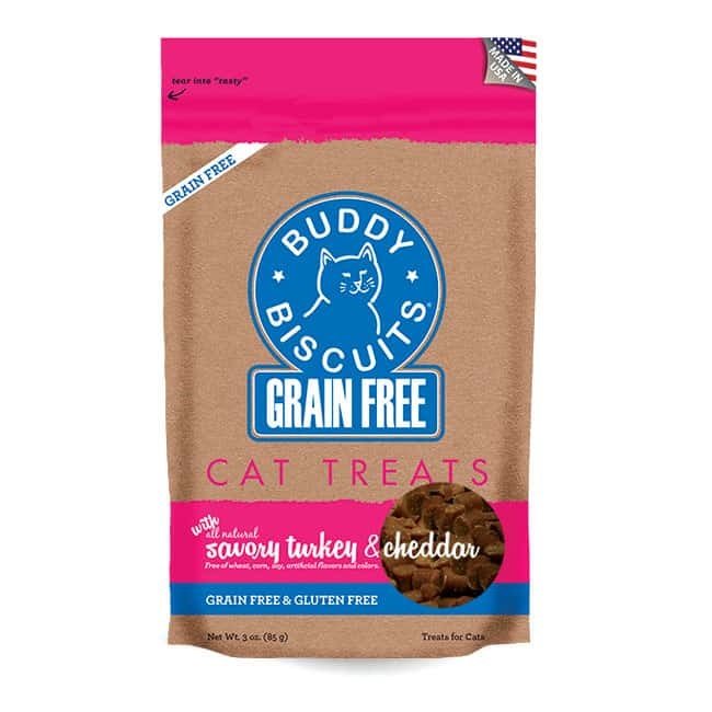Cloudstar-Feline Buddy Biscuit GF Turkey   3oz