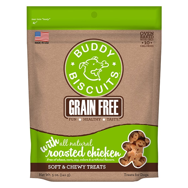 Cloudstar-Buddy Biscuit GF Chewy Chicken   5oz