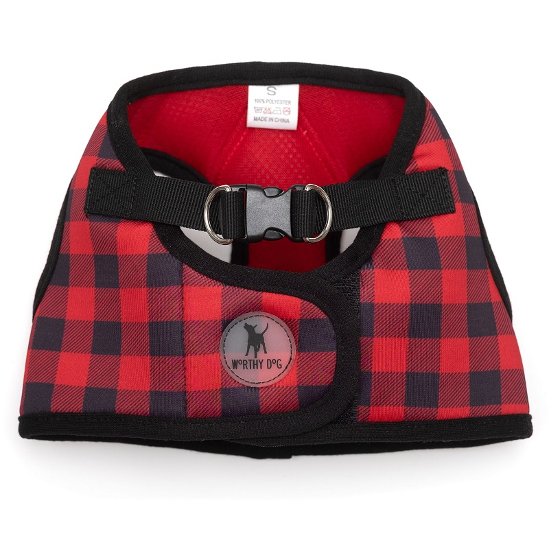 Printed Harness-Buffalo Plaid