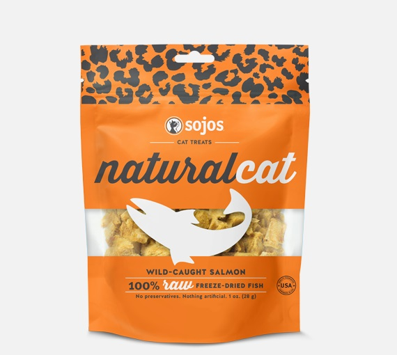 SOJOS-Natural Cat FD Treats Salmon   1oz