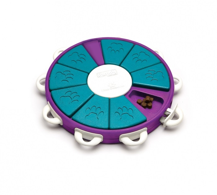 Puzzle-Twister  Purple/teal Level 3