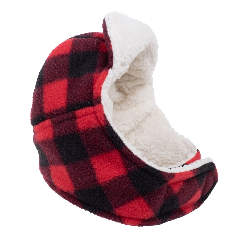 Hat-Avaitor Red Buffalo Fleece