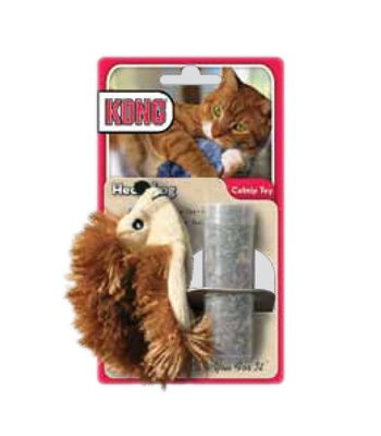 Cat Toys-Kong Refillable Hedgehog