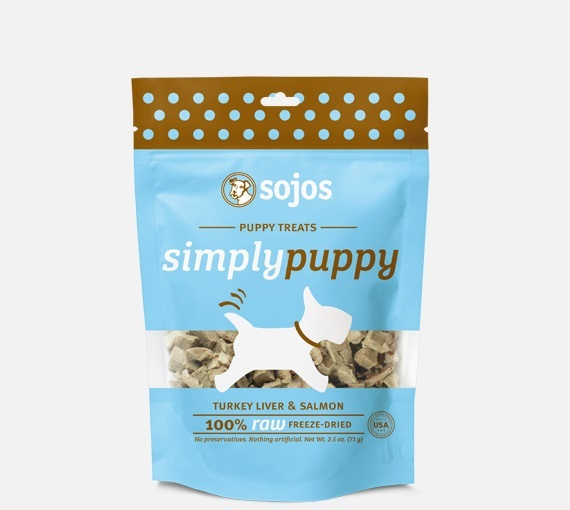 SOJOS-Simply Dog FD Puppy Turkey & Salmon   2.5oz