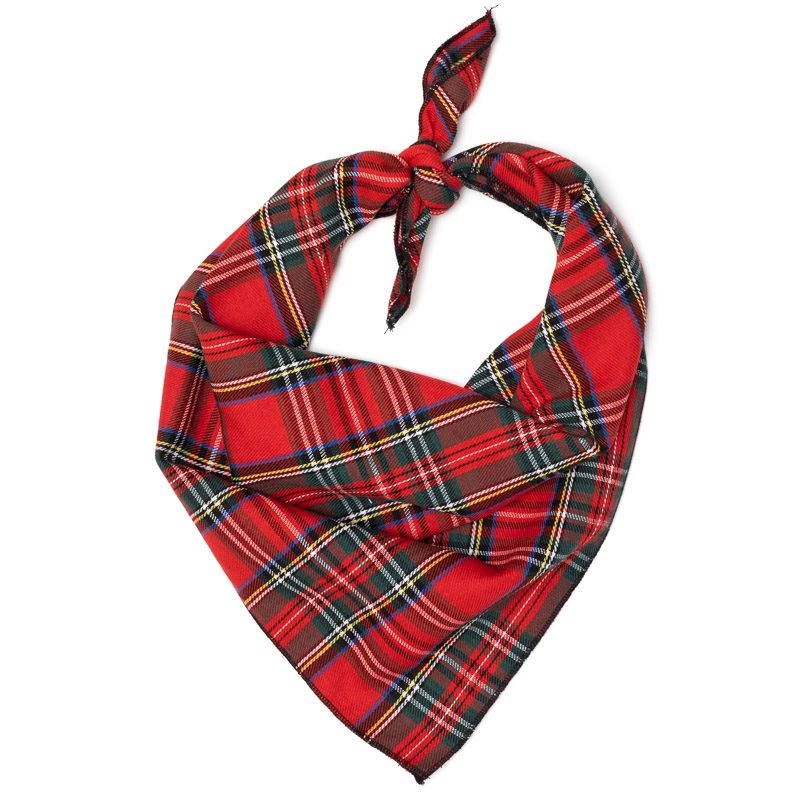 Bandana-Red III Plaid (Tie)