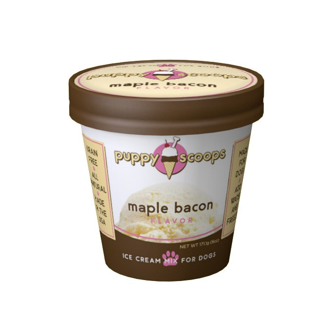 PC-Puppy Scoops Ice Cream Maple Bacon  Maple/bacon 6oz