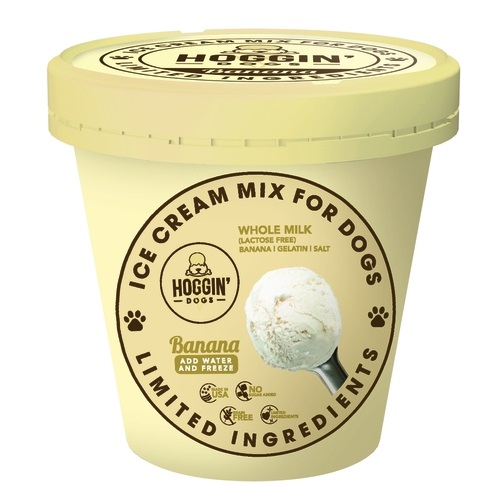 PC-Hoggin Dogs Ice Cream Banana  Banana 4.6oz