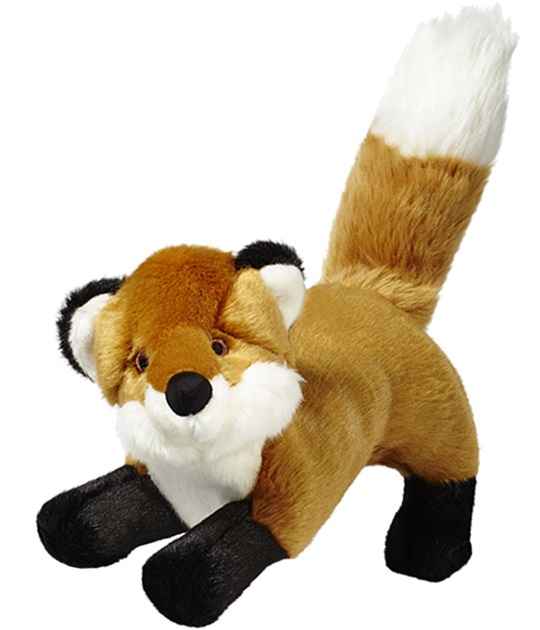 Fluff-Hendrix Fox  Orange 12""