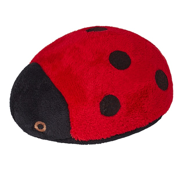 Fluff-Lady Bug  Red 4.5