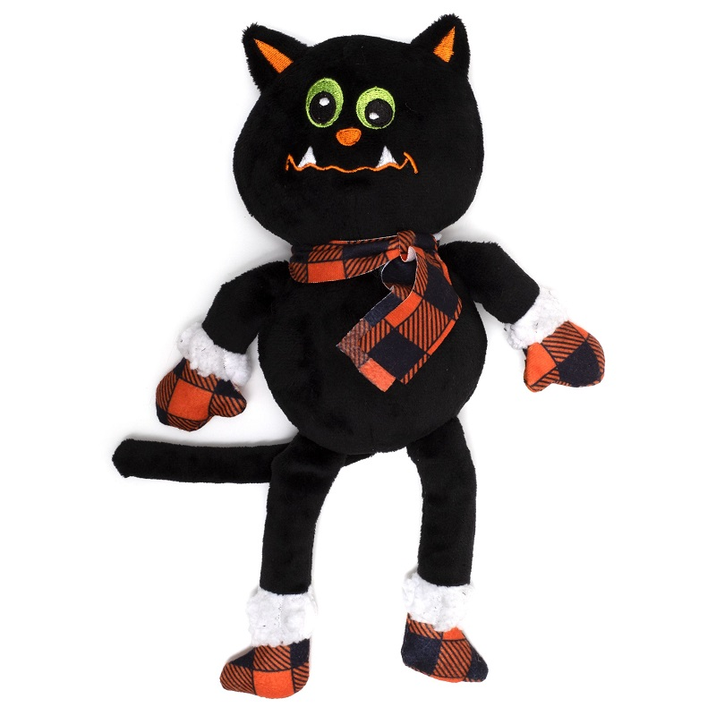 WD Buffalo Toy-Halloween Cat  Black Reg
