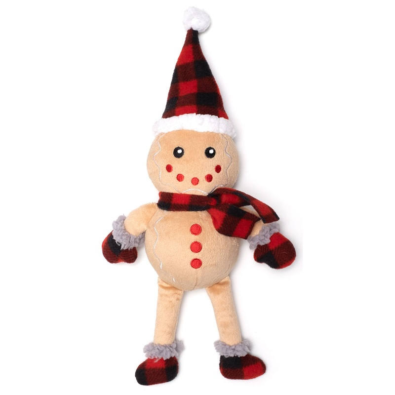 WD Buffalo Toy-Holiday Gingerbread Man  Tan Reg