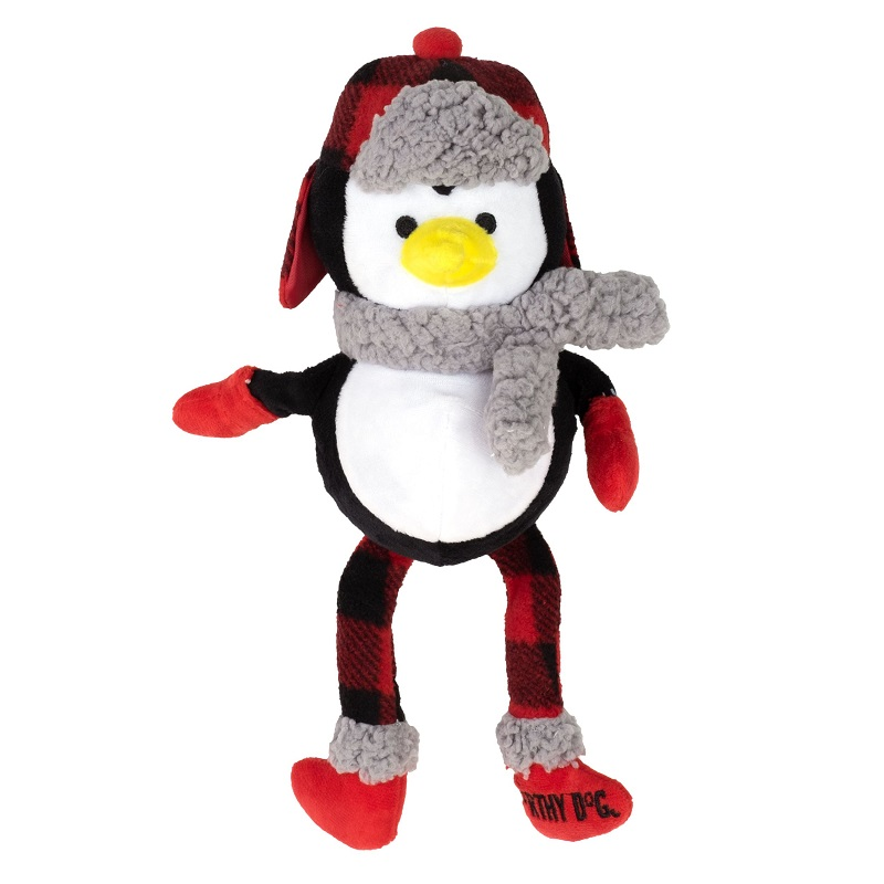 WD Buffalo Toy-Holiday Penguin  Black/white Reg