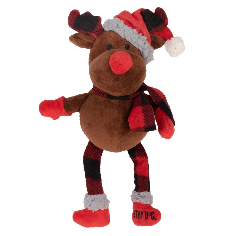 WD Buffalo Toy-Holiday Reindeer  Brown Reg