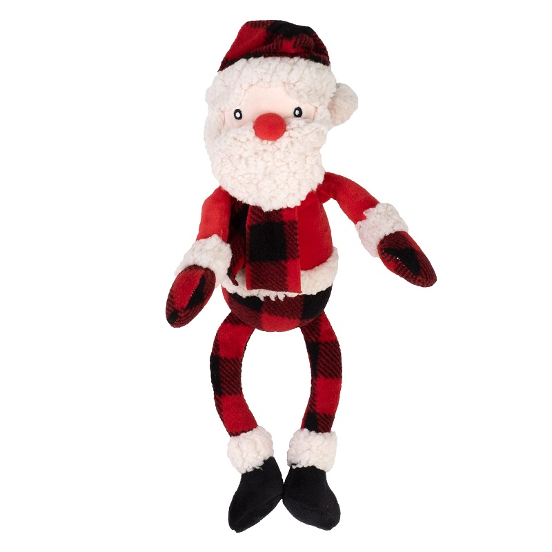 WD Buffalo Toy-Holiday Santa  Red Reg