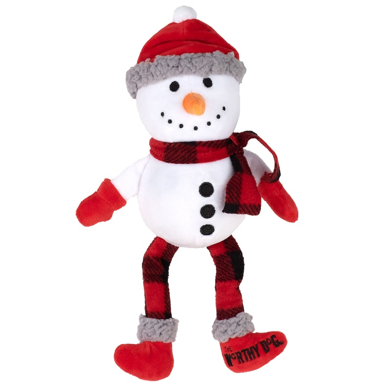 WD Buffalo Toy-Holiday Snowman  White Reg